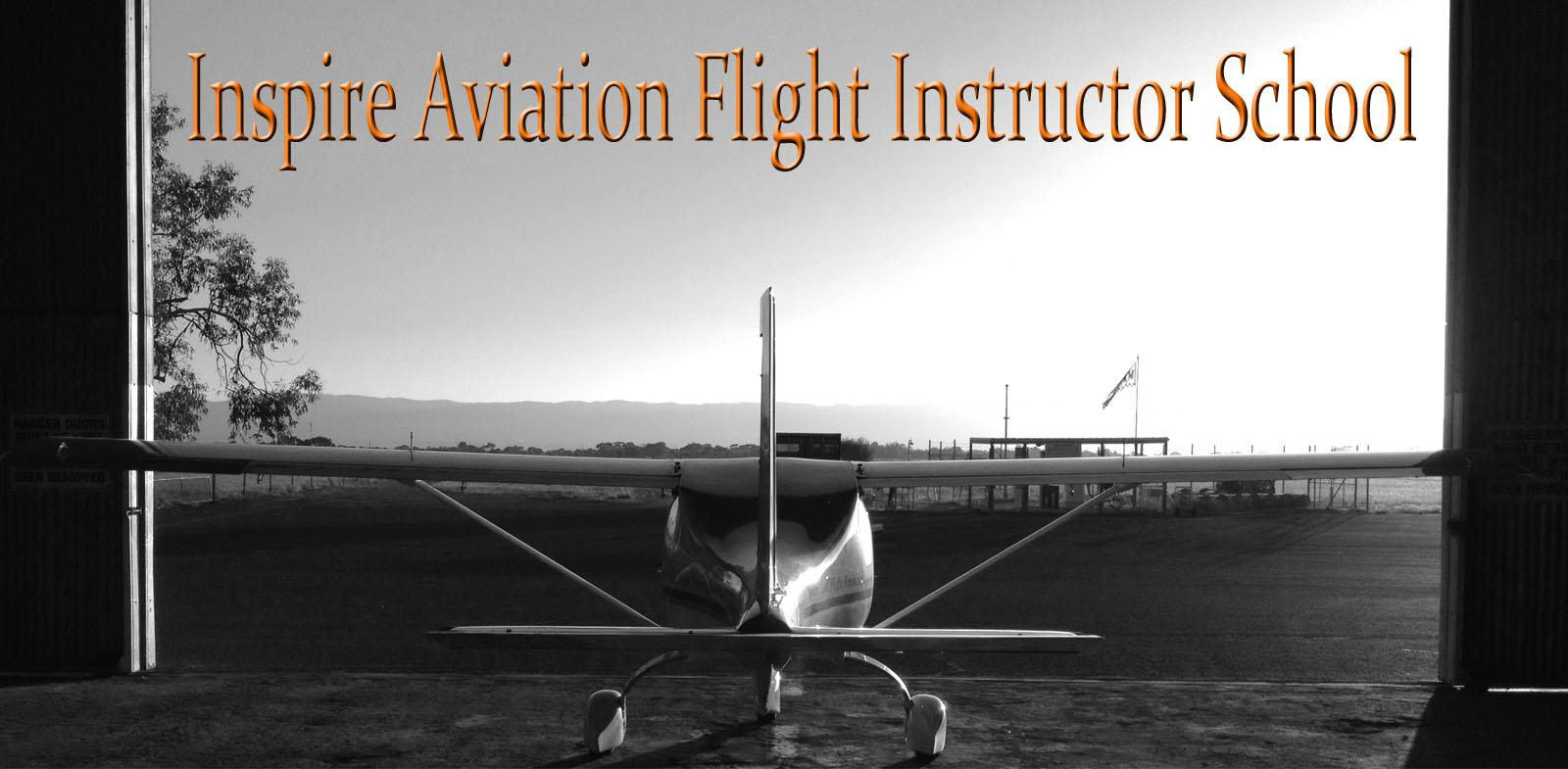 Inspire Aviation Flight Instructor School